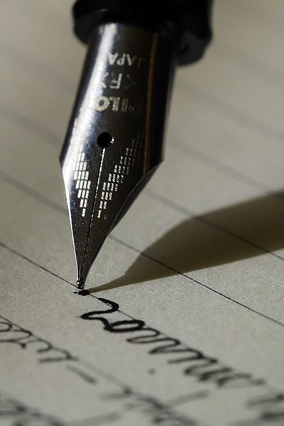 ink pen writing st louis mo